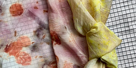 Bundle Dyeing with Flowers: in the Kitchen with Nicci. tickets
