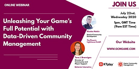 Unleashing Your Game's Full Potential with Data-Driven Community Management tickets