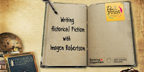 Pen to Print: Writing Historical Fiction with Imogen Robertson tickets