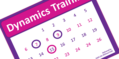 Microsoft Dynamics End User Monthly Training tickets