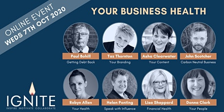 Ignite Business Speaker Event - Your Business Health tickets