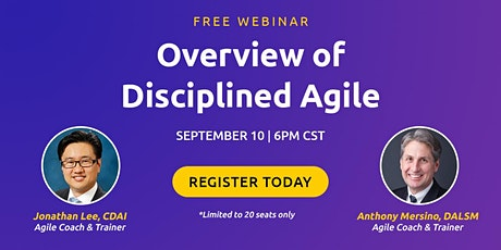 Overview of Disciplined Agile tickets
