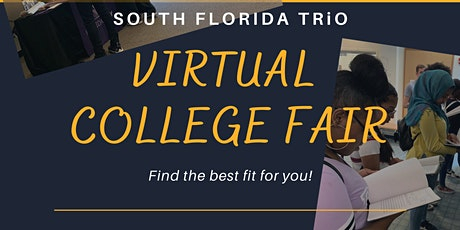 South Florida TRiO Virtual College Fair tickets