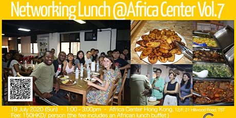 Networking Lunch @Africa Center Vol.7 tickets