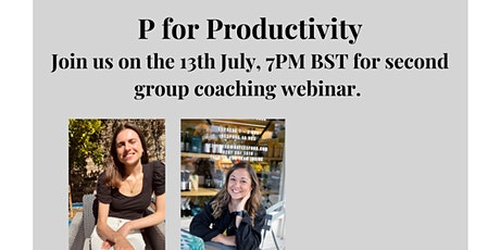 P for Productivity  tickets