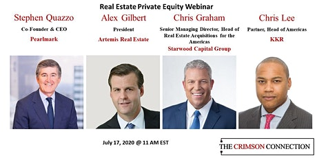 Real Estate Private Equity - Current Situation & Future Prospects tickets