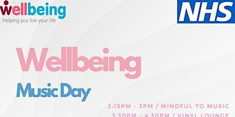 Wellbeing Music Day tickets