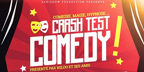 Crash Test Comedy billets