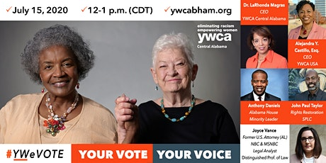 YWeVote: Your Vote, Your Voice Webinar tickets