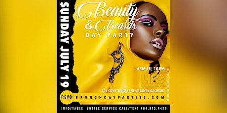 SUN 7.19.20 :: BEAUTY & BEARDS DAY PARTY AT (PENTHOUSE) @ LYFE ATL tickets