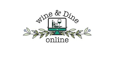 July 16th Virtual Wine Dinner with Restaurant Iris tickets