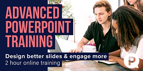 Advanced PowerPoint Training - Design better slides tickets
