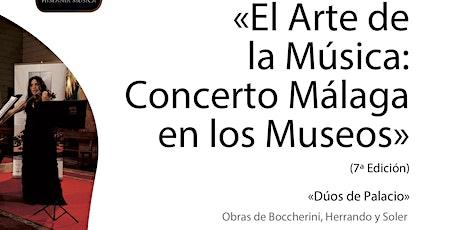 El arte de la música: Concerto Málaga en los museos tickets