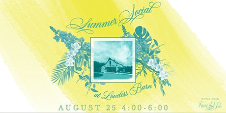 Summer Social - TWESA, ILEA, NACE, and H&H tickets