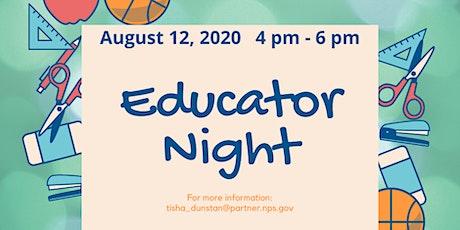 Educator Night tickets