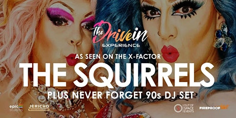 THE SQUIRRELS LIVE at Thetford Drive-In Experience tickets