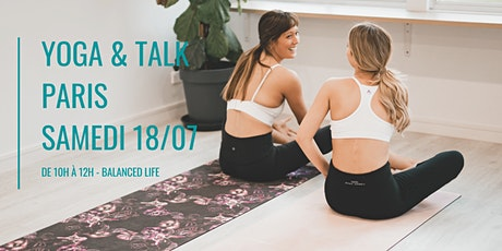 YOGA + TALK BALANCED LIFE / PARIS 20ÈME (2H) billets