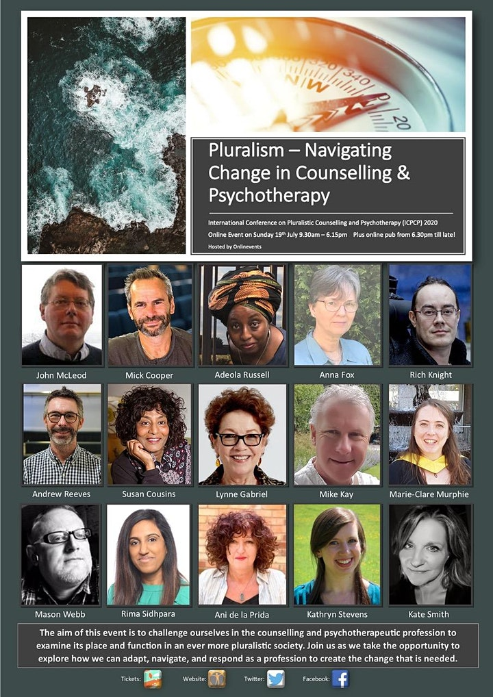 Pluralism – Navigating Change In Counselling And Psychotherapy - CONFERENCE image