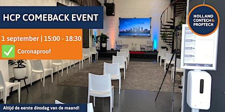 HCP Comeback event (Toekomst van wonen en kantoren) tickets