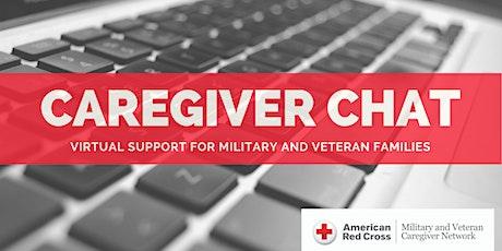 Online Caregiver Chat tickets