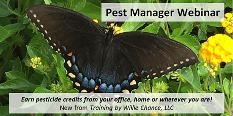 Pest Manager Webinar - MOA & Pesticide Resistance tickets