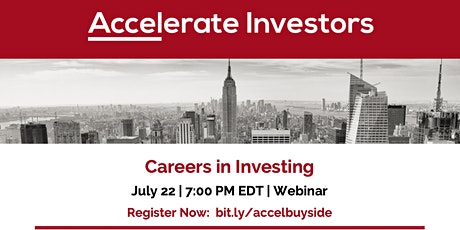 Careers in Investing tickets