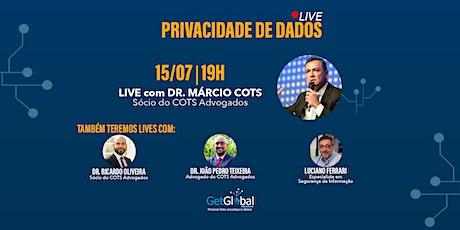 Live #01  - Como você pode atuar como profissional de privacidade de dados ingressos