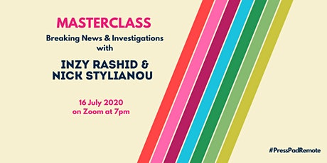 PressPad Remote Masterclass – Breaking News & Investigations tickets