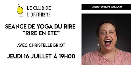 """Séance de Yoga du Rire - """"Rire en été"""" billets"""
