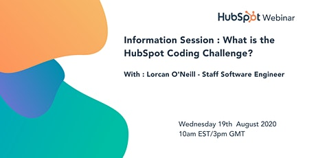 *HubSpot Webinar* Info Session : What is the HubSpot Coding Challenge? tickets