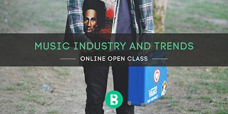 Online Open Class: Music Industry Trends & Prediction tickets