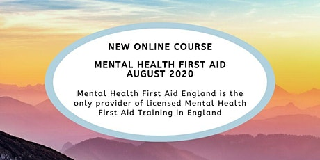 Mental Health First Aid England - Online Mental Health First Aid Course tickets