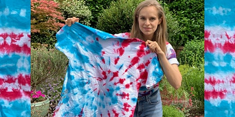 Online Tie Dye Workshop 50%off with Code STAYHOME tickets