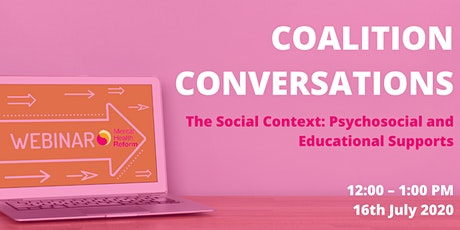 The Social Context: Psychosocial and Educational Supports tickets