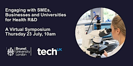 Engaging with SMEs, Businesses and Universities for Health R&D tickets