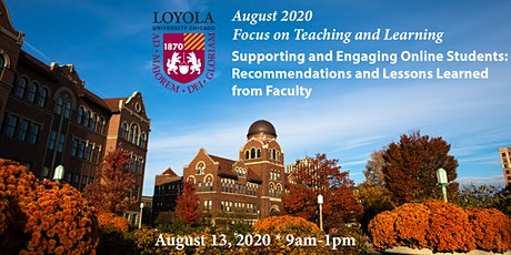 Focus on Teaching and Learning: August 2020 tickets