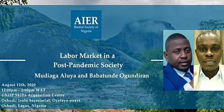Nigeria: Labor Market in a Post-Pandemic Society tickets