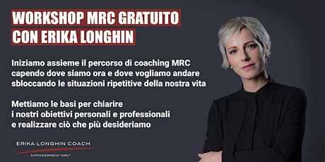 Workshop gratuito di coaching MRC biglietti