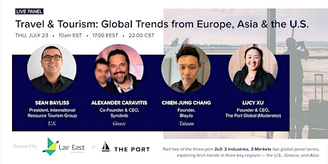 Travel & Tourism: Global Trends from Europe, Asia & the U.S. tickets