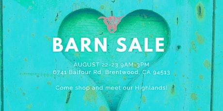 Barn Sale 2020!! tickets