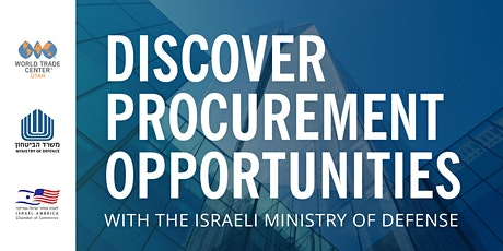 Discover Procurement Opportunities with the Israeli Ministry of Defense tickets