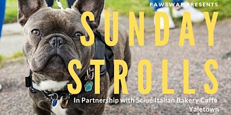 PawSwap Presents Sunday Strolls, in partnership with Sciué Caffé tickets