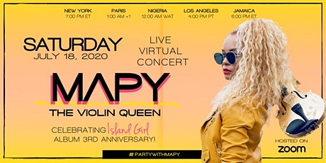 """Party With Mapy - Celebrating """"Island Girl"""" album 3rd anniversary tickets"""