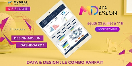 [Webinar] Design-moi un Dashboard ! Data & Design : le combo parfait billets