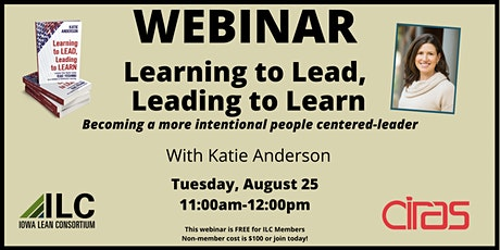 ILC Webinar:  Learning to Lead, Leading to Learn tickets