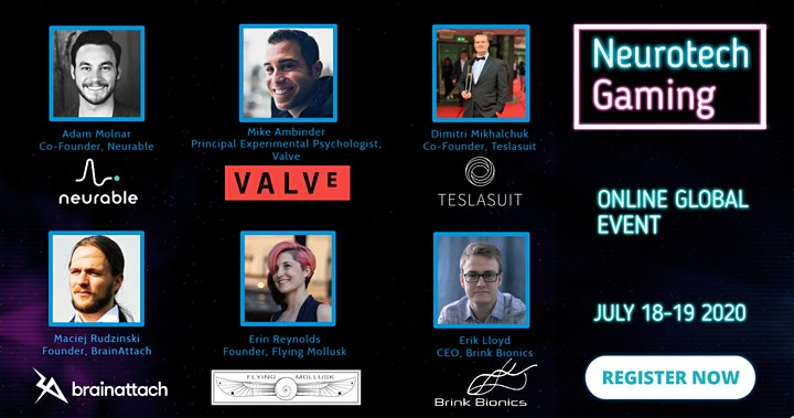 NeurotechGaming 2020 event: Connect your brain to video games image