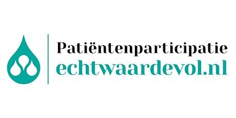 Patientenparticipatie - Echt Waardevol tickets