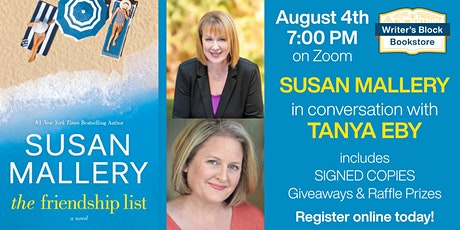 THE FRIENDSHIP LIST with Susan Mallery tickets