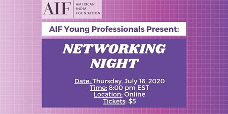 AIF Young Professionals Present: Networking Night tickets
