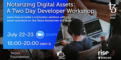 Notarizing Digital Assets - Developer Workshop entradas